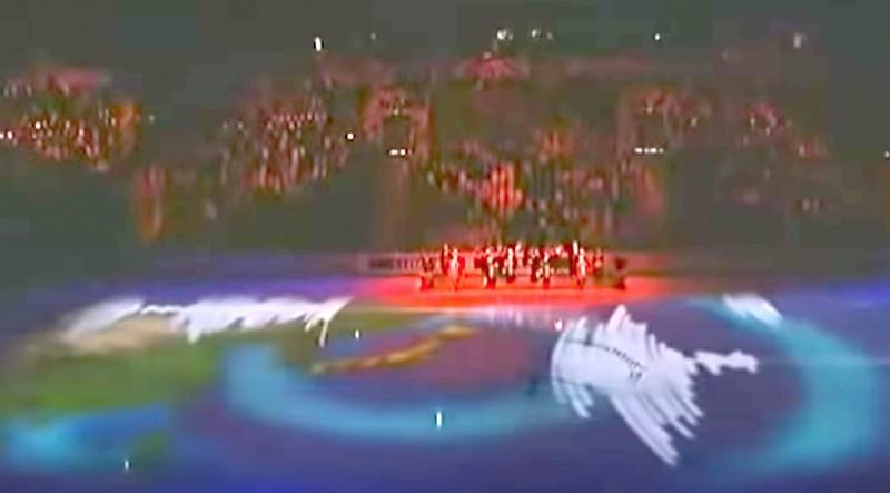 2011年フィギュア世界選手権ロシア大会での地震波形