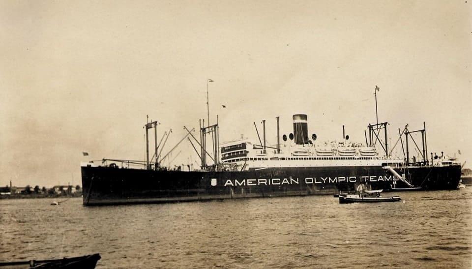 アムステルダムオリンピック船