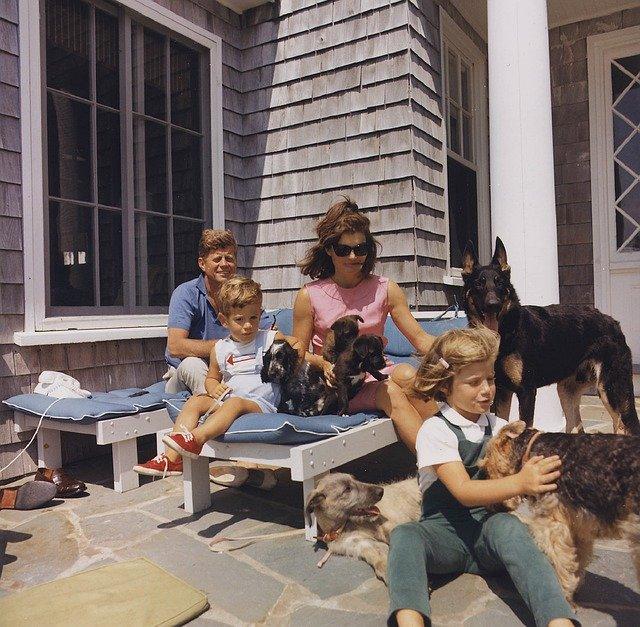 ケネディ大統領の家族(自宅の様子)