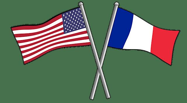 フランスとアメリカ