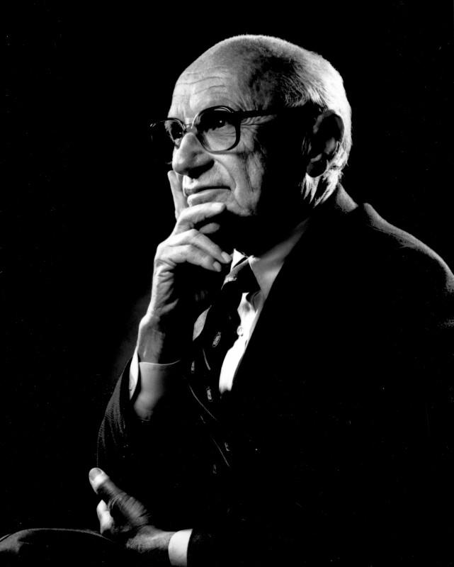 新自由主義経済学者:ミルトン・フリードマン