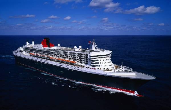 豪華客船クイーン・メリー2(Queen Mary II)