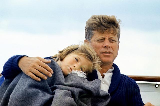 ケネディ大統領とキャロライン