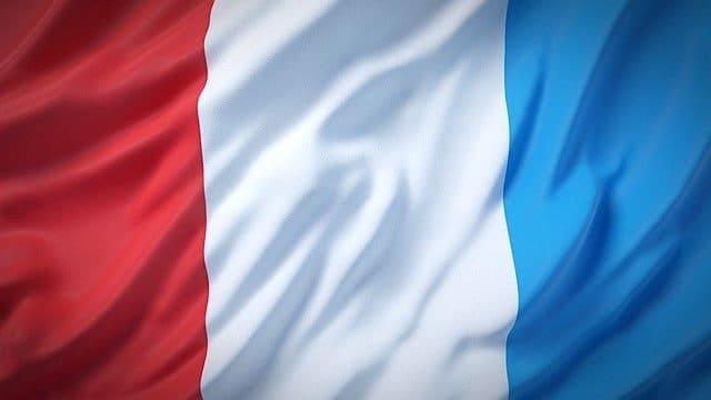 フランス国旗トリコロール
