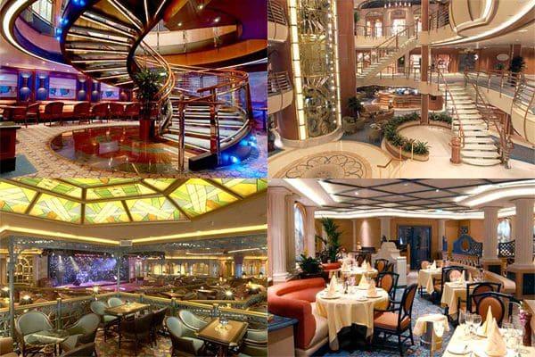 豪華客船プリンセス・ダイヤモンドの船室・内装