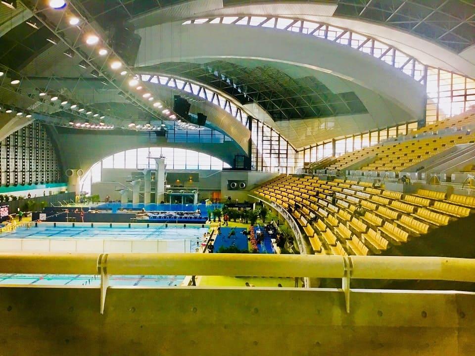 辰巳国際水泳場 内部