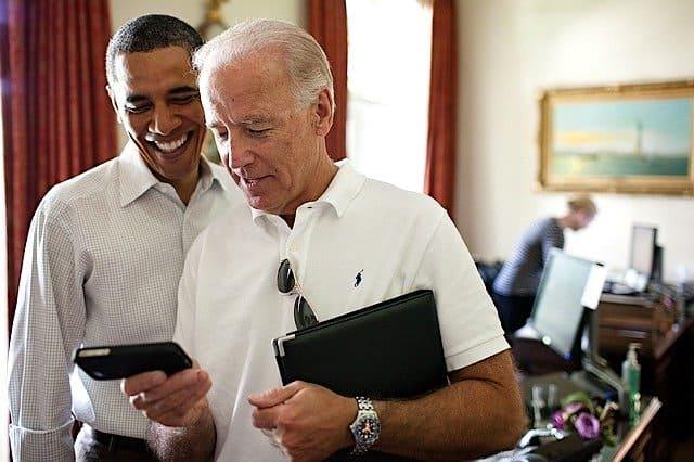 オバマ大統領とバイデン副大統領