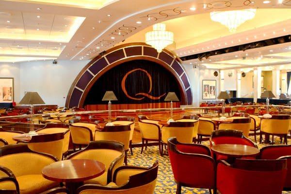 豪華客船クイーン・メリー2の船室・内装