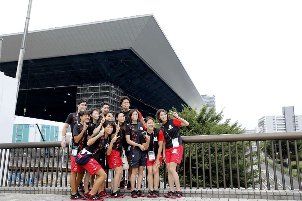 東京オリンピック 選手団