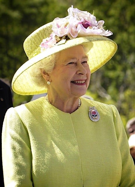 イギリス女王エリザベス二世
