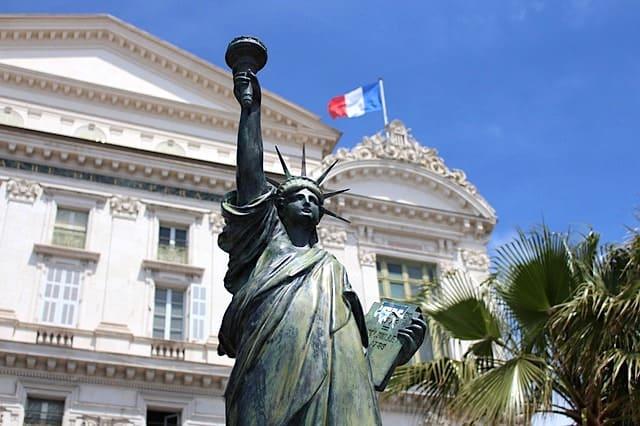 フランスにある自由の女神