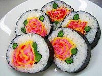 寿司 アート・巻き寿司 アート