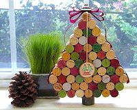 クリスマスツリー 手作り・クリスマスツリー アイディア