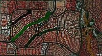都市 航空写真・都市 衛星写真